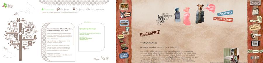 spring design / melanie bourlon, web